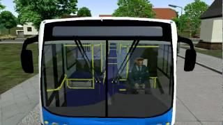 Omsi Bus Simulator 2011 Scania K270 Inspecting on Grundorf Map