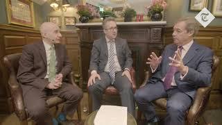 Nigel Farage v Lord Adonis clash on Brexit