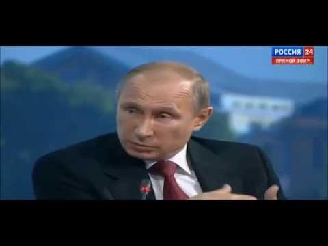 """13.06.14 Путин: """"США и Европа нагадили, а мы должны убирать"""""""