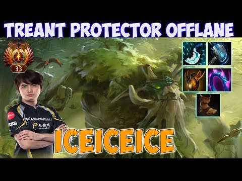 Iceiceice - Treant Protector Offlane | Top Rank Pro Gameplay - Dota 2