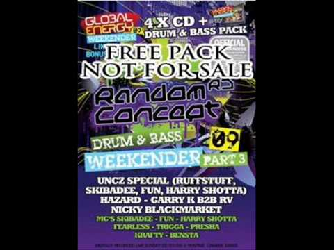 Uncz live @ Random Concept Global Energy Weekender 2009 part 2.wmv