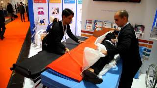 MEDICA 2013 - Live demos - Transfer and mobilization devices