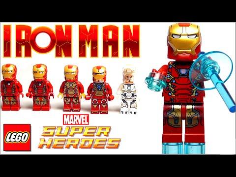 Железный человек Минифигурки LEGO Iron Man моя коллекция
