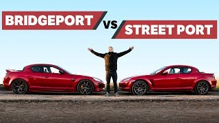 The Differences Between Bridgeported & Street Ported Rotary Engines