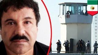 Mexican Drug Lord Joaquin 'El Chapo' Guzman escapes