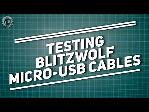 DodgeReviews - Testing Blitzwolf micro-usb cables