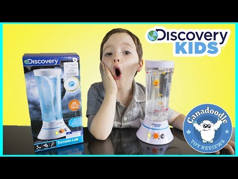 TORNADO VORTEX Science Experiment with Discovery Kids Extreme Weather Tornado Lab for kids