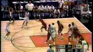 1998 NCAA Championship Game - Utah vs Kentucky 3/30/98