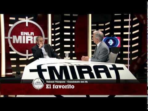 Entrevista a Tabaré Vázquez, el candidato del FA.