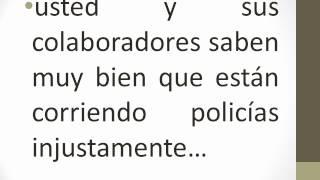 Examenes De Control De Confianza, El Gran Enga�o De Felipe Calderon Al Pueblo De Mexico