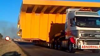 Mine Dump Truck Bin on the V-Town - Potch road