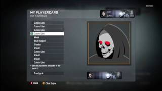 Call of Duty Black Ops Grim Reaper emblem tutorial