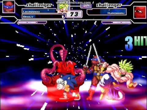 MUGEN Team Sonicfan12 vs Kuromaru
