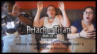 Attack on Titan 1x13 Reaction and Review