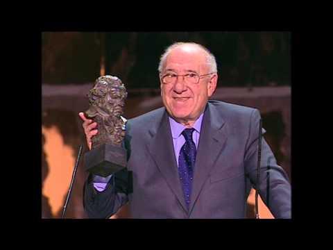 Alfredo Landa recoge el Goya de Honor 2008