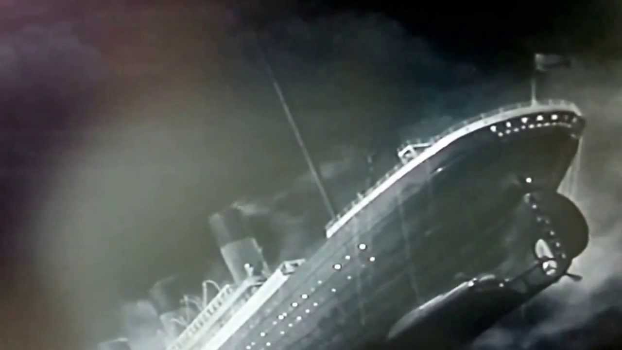 Underwater of pictures the titanic