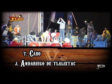 AGARRON SOBRESALIENTE DEL ANDARIEGO VS EL CABO DE SELECCIÓN JALISCIENSE en TEZOATLÁN OAXACA