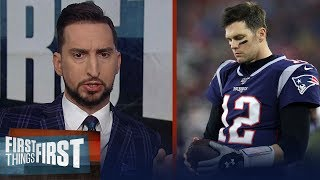 Brady played his last game with Pats on Saturday vs Titans — Nick Wright | NFL | FIRST THINGS FIRST