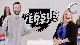 Versus: Republicans / Democrats Take the US Citizenship Test - Episode 2