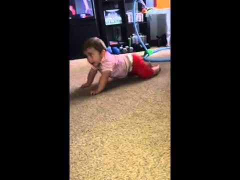 4 Month Old Baby Showing Off His Sex Moves. Hilarious! video