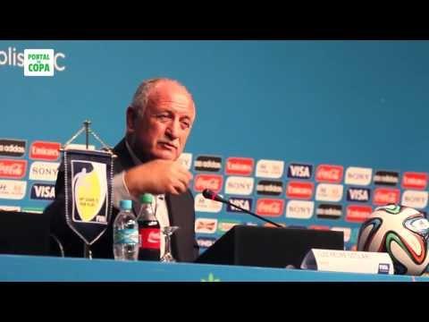 Luiz Felipe Scolari - Técnico do Brasil - Seminário de Seleções