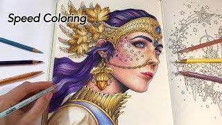 "Speed Coloring of ""Princess Luna"" | Tidevarv Coloring Book"