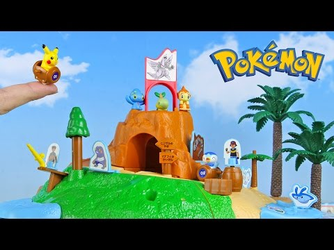 Pokemon Island Toys 5 Packs Unboxing Opening
