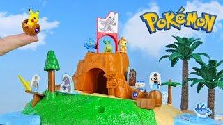 Pokemon Island Toys 5 Packs Unboxing Opening