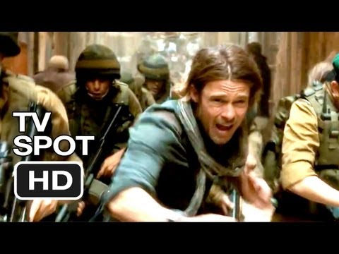 World War Z TV SPOT - Dark (2013) - Brad Pitt Movie HD