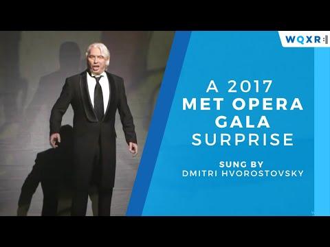 Dmitiri Hvorostovsky: A 2017 Met Opera Gala Surprise