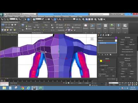 Box and Edge Modeling a Character in 3ds Max