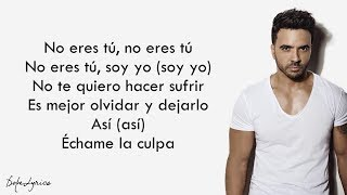 Download Lagu Échame La Culpa - Luis Fonsi, Demi Lovato (Lyrics) Gratis STAFABAND