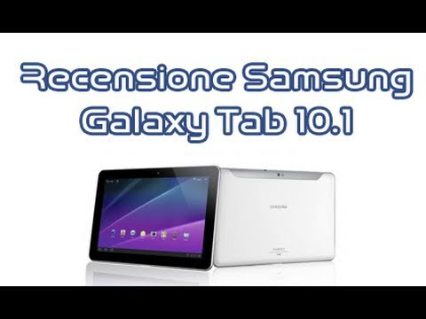 Samsung Galaxy Tab 10.1 (Slim). recensione completa in italiano by AndroidWorld.it