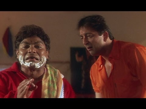 Johnny Lever Makes Way For Sanjay Dutt - Khoobsurat