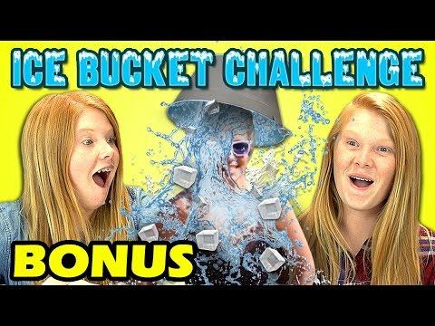 Kids React To Ice Bucket Challenge (Bonus #111)