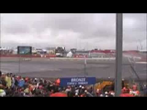 British F1 Grand prix 2008 : Lewis Hamilton World Champion