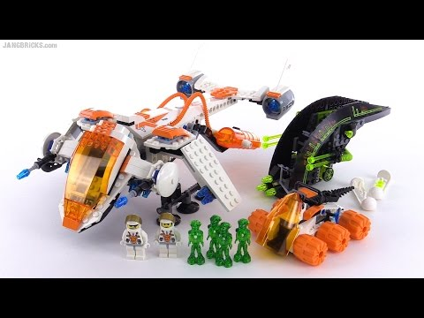 LEGO Mars Mission MX-71 Recon Dropship from 2007! set 7692