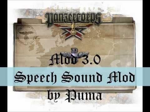 [Panzer Corps] DMP Speech Sound Mod by Puma