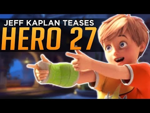 Overwatch: NEW Hero 27 Hints from Jeff Kaplan!
