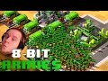 8 Bit Armies! ALL INFANTRY FFA With Speedy, Dong & Hova! (THIS IS INSANE)