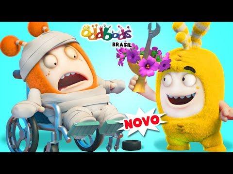 Oddbods | CONSERTO! | Desenho Animado Divertido Para Crianças