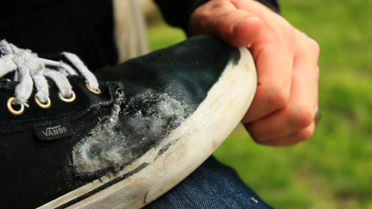 How To Fix Vans Shoes Rubber