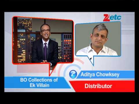 Box Office Collection Ek Villain - ETC Bollywood Business - Komal Nahta
