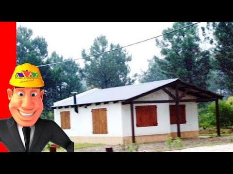 Casa econ mica de 2 dormitorios youtube - Casas para construir modelos ...