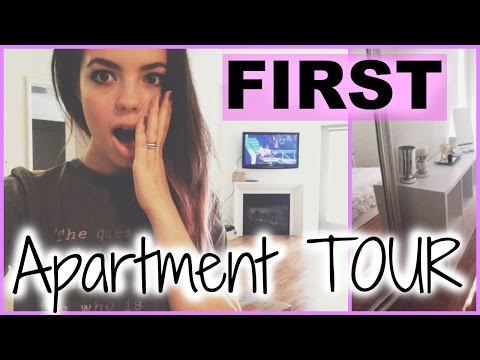 Claudia'sLife: FIRST APARTMENT TOUR!!
