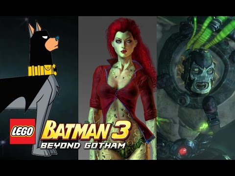 LEGO Batman 3: Beyond Gotham - New Characters Revealed