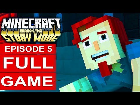 MINECRAFT STORY MODE SEASON 2 EPISODE 5 Gameplay Walkthrough Part 1 FULL GAME - No Commentary