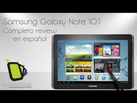 Samsung Galaxy Note 10.1 completo análisis en español