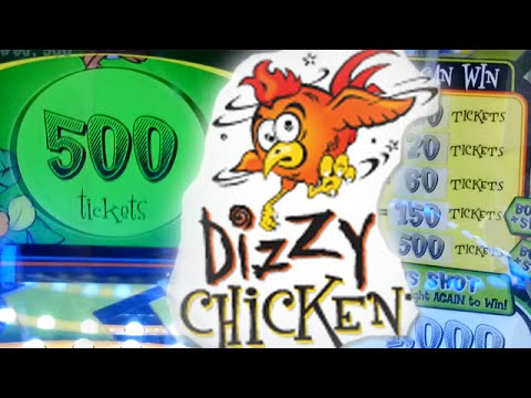 Dizzy Chicken Arcade Game - Jackpot!!! video