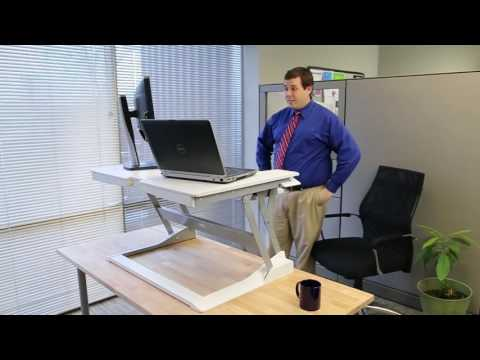 Ergotron WorkFit T from Visual q Healthy Computing